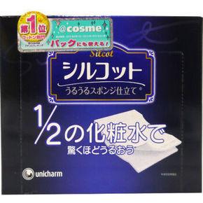 unicharm 尤妮佳 省水薄款化妆棉 40片 折15元(3件6折)