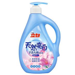 立白 天然亮白手洗专用洗衣液 自然馨香 1kg 8.1元