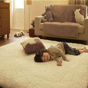 xy 加厚羊羔绒简约地毯 40*120cm 8.8元包邮