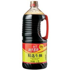 海天 精选生抽 1.75L 折10元(19.9,买2免1)