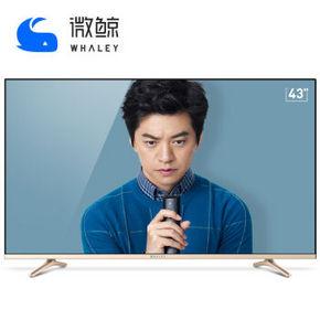 WHALEY 微鲸 WTV43K1J 43英寸 4K超清液晶电视 1478元