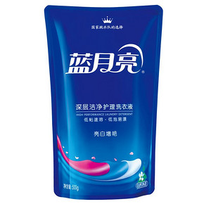 蓝月亮 亮白增艳深层洁净护理洗衣液 500g 折4.4元(买2免1)