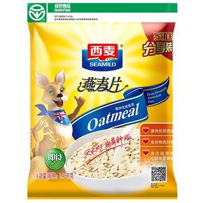 西麦 即食免煮纯燕麦片 1480g 折17元(买2免1)