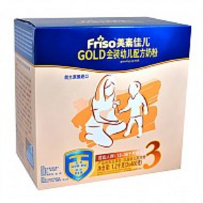 Friso 美素佳儿 金装盒装 3段 1200g 179元包邮