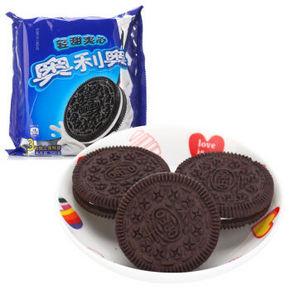奥利奥 轻甜夹心饼干 390g 9.9元