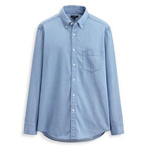 lativ 诚衣 男士牛仔长袖衬衫  68元