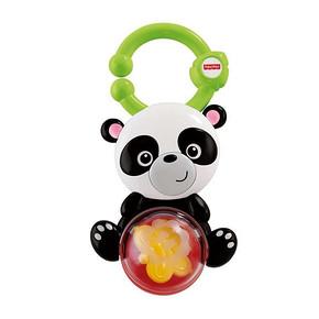 Fisher-price 费雪 缤纷动物之熊猫摇铃 15.9元