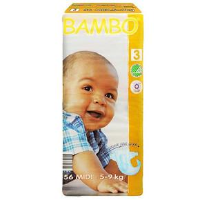BAMBO 班博 绿色生态 婴儿纸尿裤 3号 56片 68元