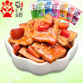 豆腐记香菇豆干小包装 500g 券后12.9元包邮