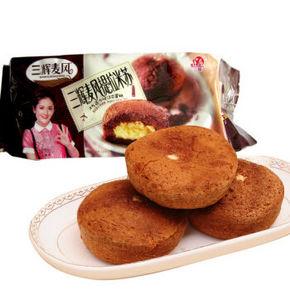 三辉麦风 提拉米苏夹心蛋糕 100g 折2.6元(3件7折)