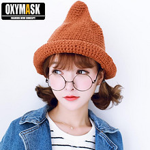 Oxymask 韩版潮男女士秋冬渔夫帽 券后18元包邮