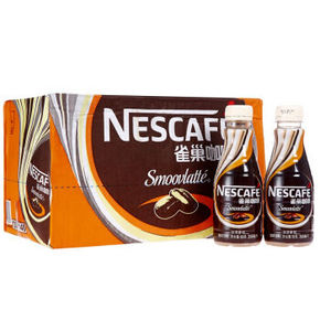 Nestle 雀巢 丝滑拿铁咖啡 268ml*15瓶 65.9元