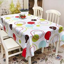 金塑 防水桌布PVC餐桌布 137*90cm 拍下5.8元包邮