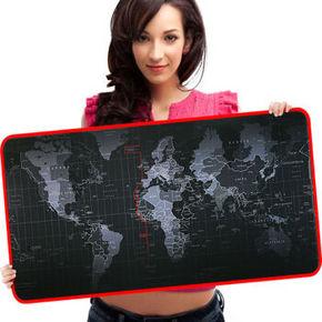 果敢 数码版 世界地图 游戏桌垫 9.9元包邮