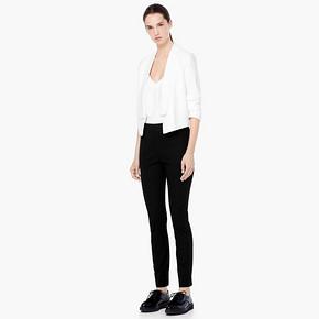 双12预告# MANGO 女士织纹休闲长裤 69元