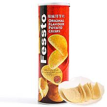 Fessto 菲思图 原味薯片 160g 折7元(3件7折)