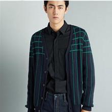 双12预告# 太平鸟 男士羊毛针织开衫 99元