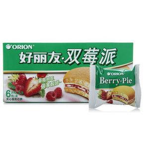 好丽友 双莓派6枚 138g 7.7元
