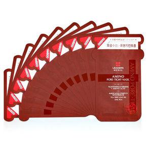 LEADERS 丽得姿 美蒂优氨基酸细致毛孔面膜 10片盒 45.3元(39.9+5.4)