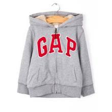双12提前购物车# Gap 幼童徽标厚绒内衬连帽卫衣 139元