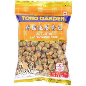 泰国进口 东园 鱼皮青豆 50g 1元