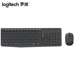 罗技 MK235无线键盘鼠标套装 89元包邮