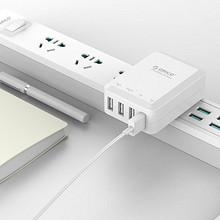 ORICO 奥睿科 四口20W 墙插式智能USB充电器 25元包邮