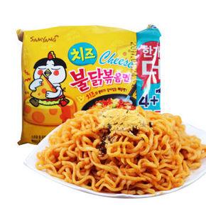 韩国进口 三养 火鸡面芝士味 140g*5袋 15.9元