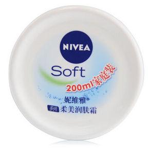 NIVEA 妮维雅 柔美润肤霜 200ml 折14.7元(199-100)