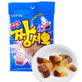 LOTTE 乐天 骨头QQ糖 可乐味 43g 3.6元