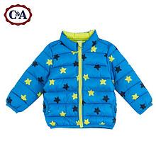 双12提前购物车# C&A 男婴星星印花棉衣 49元包邮