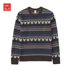 UNIQLO 优衣库 男士羊仔毛针织衫 99元