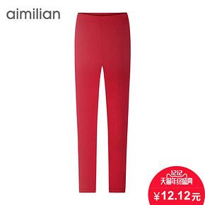 双12预告# 艾米恋 女款大码显瘦打底裤 12元