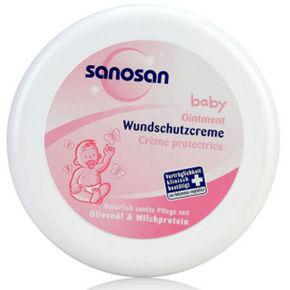 Sanosan 婴幼儿修护软膏 150ml 39元(可3件5折)