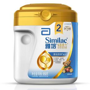 雅培 亲体 金装 喜康力较大婴儿配方奶粉 2段 950g 111元包邮