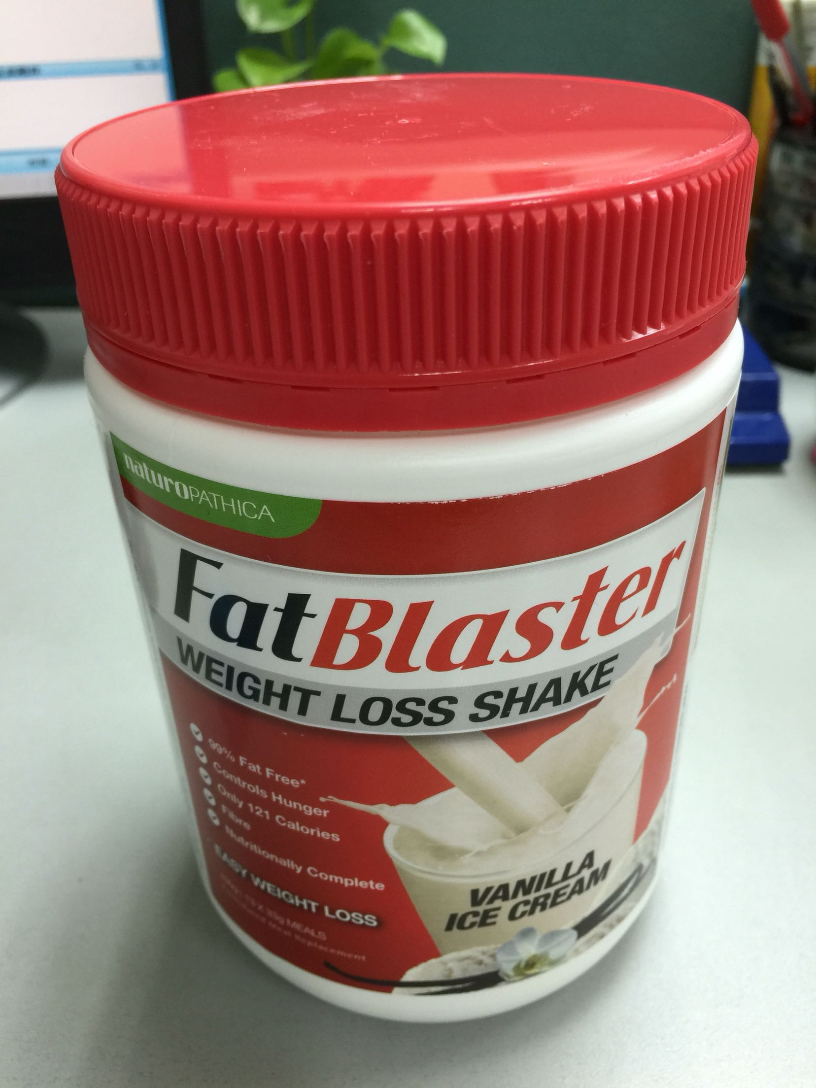 澳大利亚Fatblaster减肥奶昔代餐粉430g香草口味