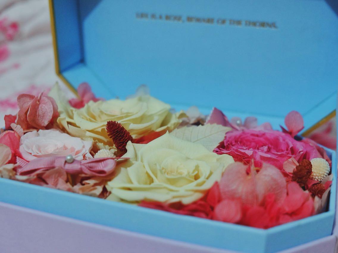野兽派 永生花盒 玫瑰玫瑰我爱你