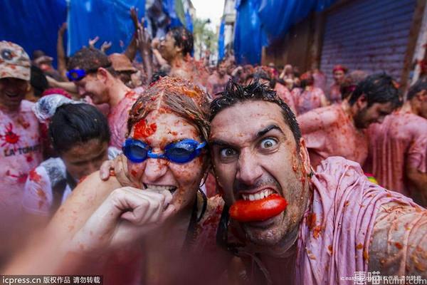 西班牙番茄大战
