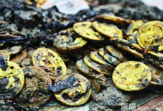 海昏侯墓失传论语 另有金饼285枚为汉墓考古史上之最(图)