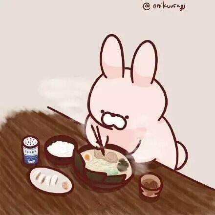 孤独的美食兔
