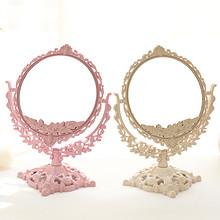 木木家 欧式复古台式双面化妆镜 14.5元包邮(17.5-3券)