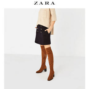 ZARA TRF 女鞋 弹性高跟长靴 159元包邮