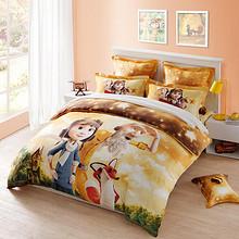 LOVO 卡通全棉被套床上四件套 小王子 149元包邮
