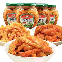 前30分钟# 惠通 四川下饭菜泡菜300g*4瓶 18点 24.9元(34.9-10券)