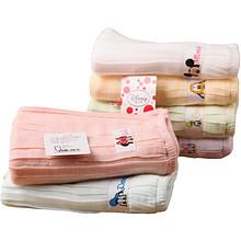 迪士尼 婴儿6重纱方巾手帕 6条装 49元包邮(89-40券)