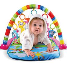 德智体美# 活石 婴儿玩具健身架 79元包邮(89-10券)