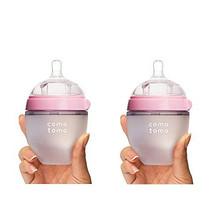 comotomo 可么多么 宽口径硅胶奶瓶 150ml*2只 155元包邮