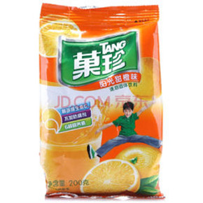 果珍 阳光甜橙 200g 折6.3元(3件7折)