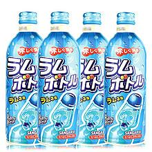 日本三佳利 波子汽水碳酸饮料 原味 500ml*4瓶 19.8元(2件起售)
