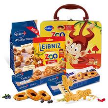 百乐顺 儿童零食动物饼干礼盒 100g*2 29元包邮(49-20券)